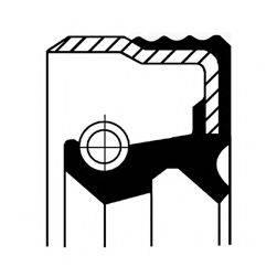 Уплотняющее кольцо, ступица колеса CORTECO 12016441B