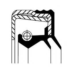 Уплотняющее кольцо, дифференциал; Уплотняющее кольцо, раздаточная коробка CORTECO 12015744B