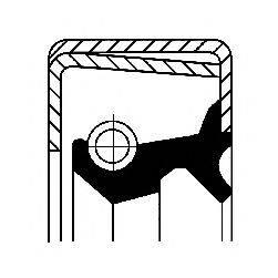 Уплотняющее кольцо, вспомогательный привод CORTECO 12019239B