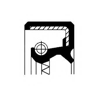 Уплотняющее кольцо, раздаточная коробка CORTECO 12036368B