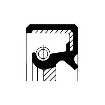Уплотнительное кольцо CORTECO 12015318B
