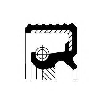 Уплотняющее кольцо, дифференциал CORTECO 12017068B