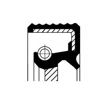 Уплотняющее кольцо, дифференциал CORTECO 12036825B