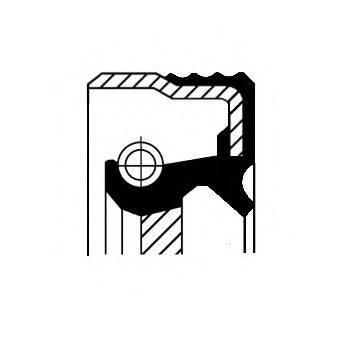 Уплотняющее кольцо, ступенчатая коробка передач CORTECO 12020777B