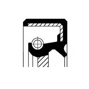 CORTECO 19034984B Уплотняющее кольцо, ступенчатая коробка передач