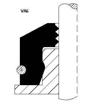 Уплотнительное кольцо, стержень кла CORTECO 12015876