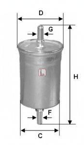 SOFIMA S1515B Топливный фильтр