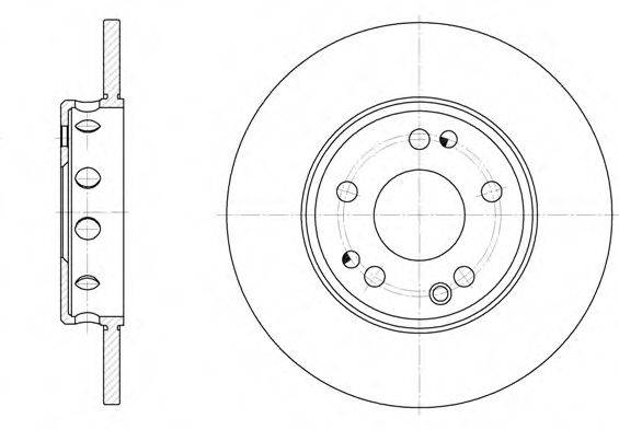 Тормозной диск ROADHOUSE 6059.00