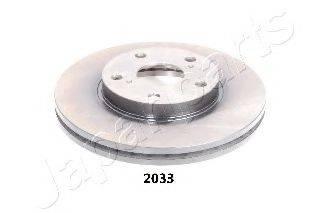 Тормозной диск JAPANPARTS DI-2033