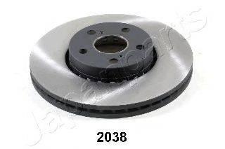 Тормозной диск JAPANPARTS DI-2038