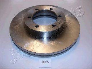 Тормозной диск JAPANPARTS DI-K07
