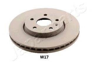 Тормозной диск JAPANPARTS DI-W17