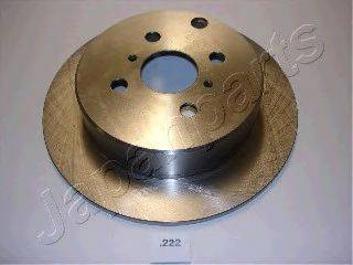 Тормозной диск JAPANPARTS DP-222