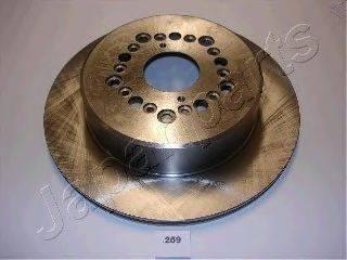 Тормозной диск JAPANPARTS DP-259