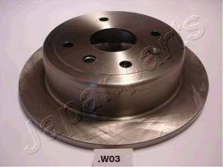 Тормозной диск JAPANPARTS DP-W03