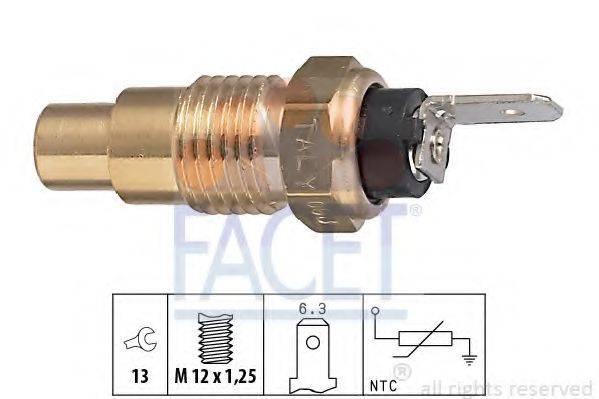 FACET 73223 Датчик, температура охлаждающей жидкости