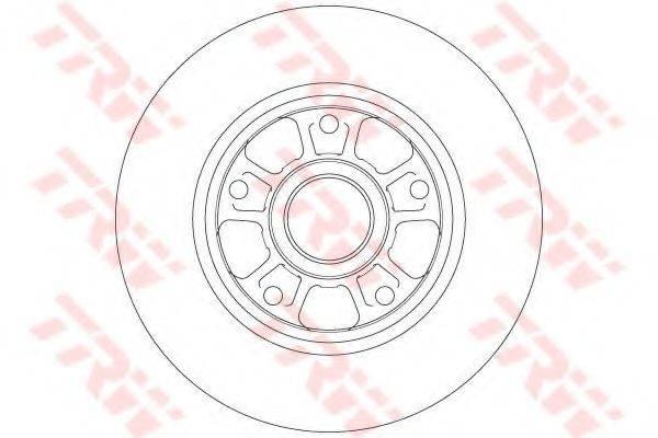 Тормозной диск TRW DF6182