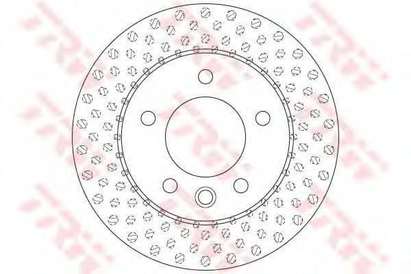 Тормозной диск TRW DF6194S