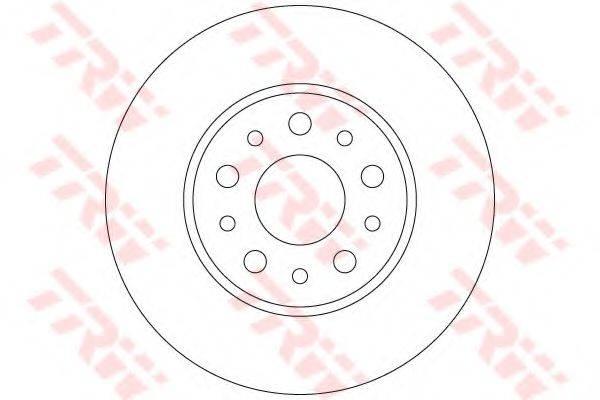 Тормозной диск TRW DF6228