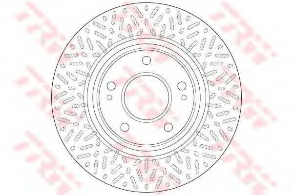 Тормозной диск TRW DF6259