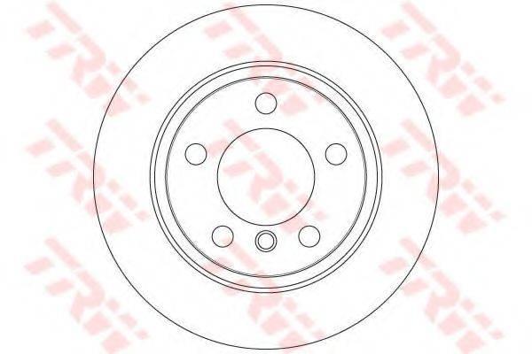 Тормозной диск TRW DF6353