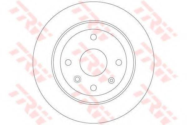 Тормозной диск TRW DF6360