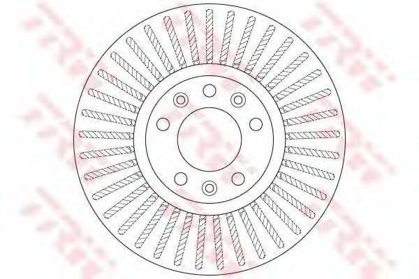 Тормозной диск TRW DF6419