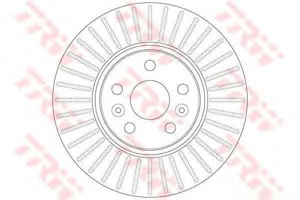 Тормозной диск TRW DF6449