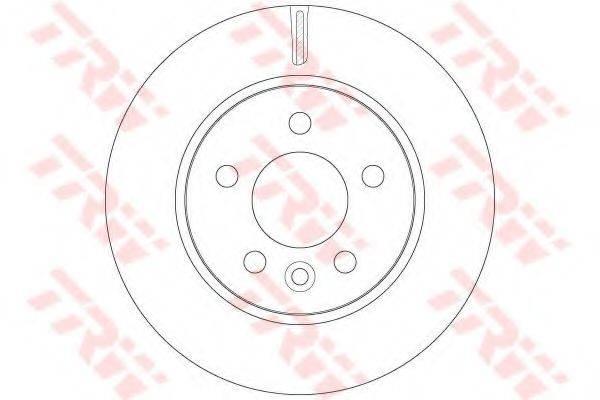 Тормозной диск TRW DF6482