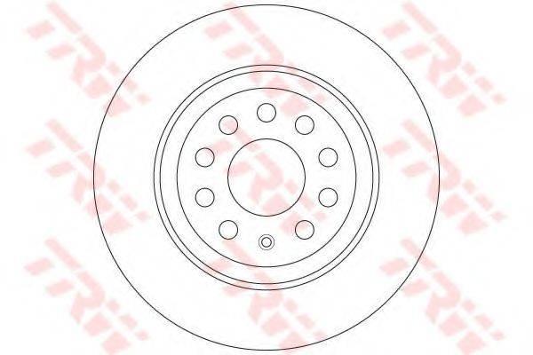 Тормозной диск TRW DF6504