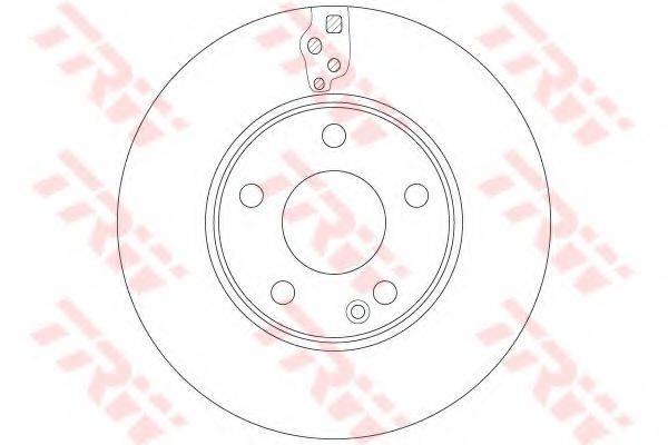 Тормозной диск TRW DF6548