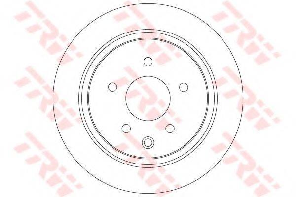 Тормозной диск TRW DF7369