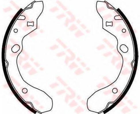 Комплект тормозных колодок TRW GS8582
