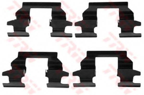 TRW PFK500 Комплектующие, колодки дискового тормоза