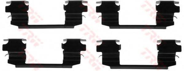 TRW PFK538 Комплектующие, колодки дискового тормоза