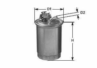 Топливный фильтр CLEAN FILTERS DN1934