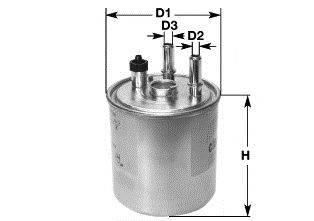Топливный фильтр CLEAN FILTERS DN2704