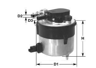 Топливный фильтр CLEAN FILTERS DNW2504