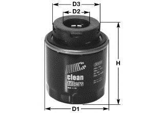 Масляный фильтр CLEAN FILTERS DO5519