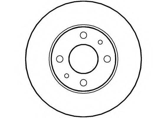 NATIONAL NBD119 Тормозной диск