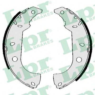 LPR 04860 Комплект тормозных колодок