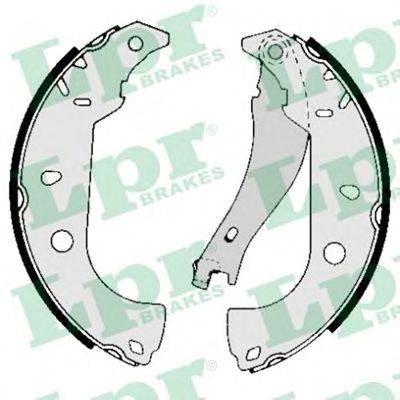 LPR 05050 Комплект тормозных колодок