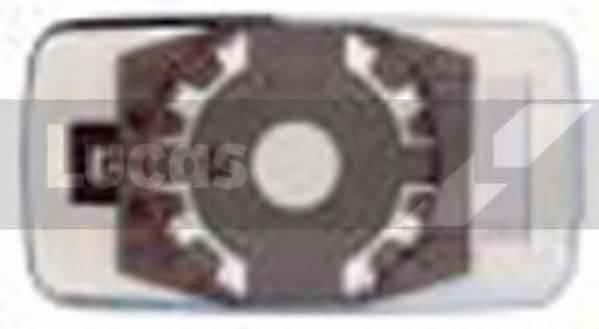 LUCAS ELECTRICAL LR0066 Зеркальное стекло, узел стекла