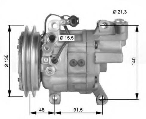 NRF 32475G Компрессор, кондиционер