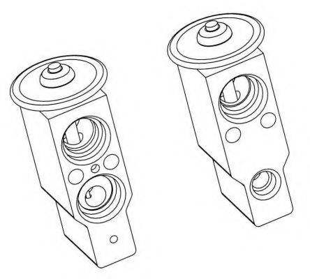 NRF 38360 Расширительный клапан, кондиционер