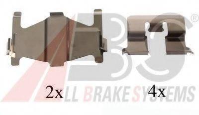 Комплектующие, колодки дискового тормоза A.B.S. 1206Q