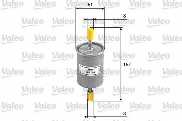 VALEO 587008 Топливный фильтр