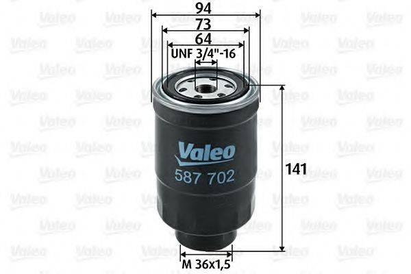 VALEO 587702 Топливный фильтр