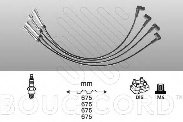 BOUGICORD 7113 Комплект проводов зажигания