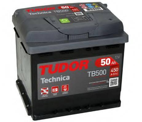 TUDOR TB500 Стартерная аккумуляторная батарея; Стартерная аккумуляторная батарея
